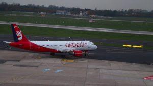 Besucherterrasse 2019 – Flugzeuge auf Flughafen Düsseldorf