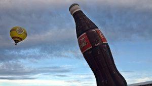 Coca Cola Ballon und Wera Ballon