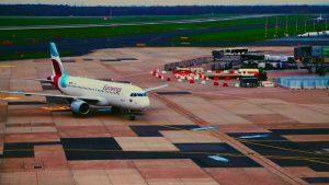 Flughafen Düsseldorf Besucherterrasse 2019