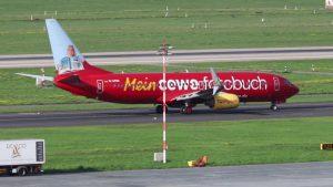 Flughafen Düsseldorf Flugzeuge starten und landen