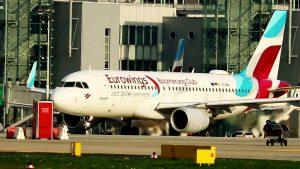 Flugzeug Start – Flugzeuge starten auf Flughafen Düsseldorf