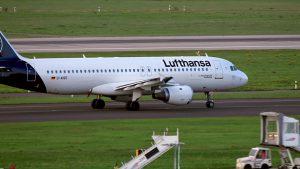 Flugzeuge auf Airport DUS