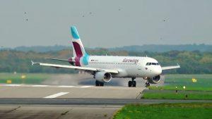 Flugzeuge auf Flughafen Düsseldorf