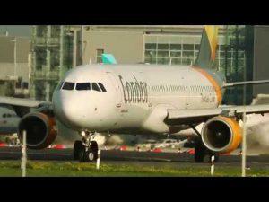 Planespotting 2019 Düsseldorf mit Airbus und Boeing Flugzeuge