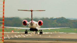 Planespotting Düsseldorf mit Airbus und Boeing Flugzeuge