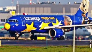 D-ABDQ – Airbus A320-214 – Eurowings mit Europa Park Livery