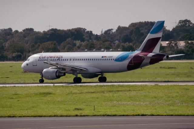 D-ABHF Eurowings Airbus A320-214