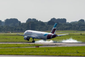 D-ABHG Eurowings Airbus A320-214